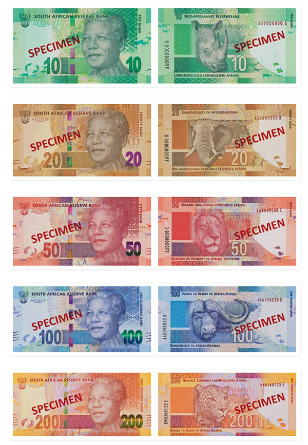 New-South-African-Bank-Notes